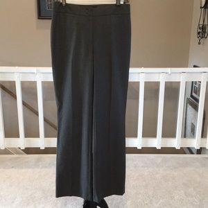 "Talbots dark Gray ""Heritage"" Trousers Size 4"